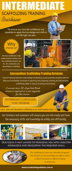Intermediate Scaffolding Training Brisbane