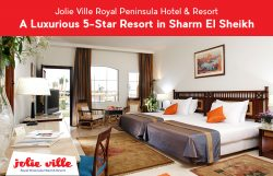Jolie Ville Royal Peninsula Hotel & Resort – A Luxurious 5-Star Resort in Sharm El Sheikh