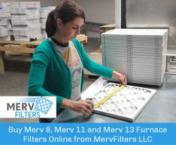 Buy Merv 8, Merv 11 and Merv 13 Furnace Filters Online from MervFilters LLC