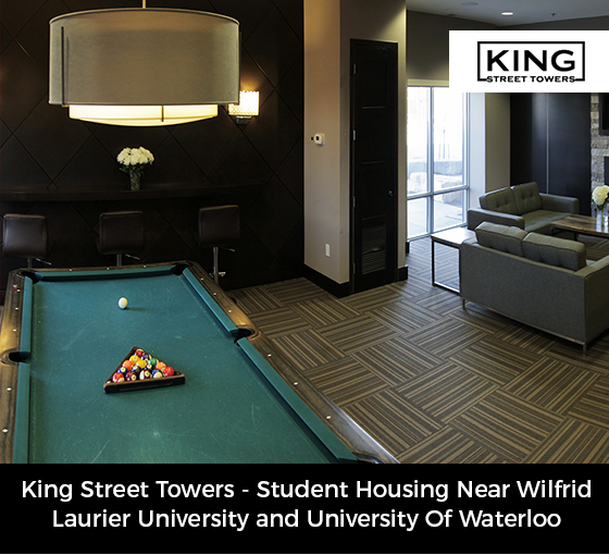 King Street Towers – Student Housing Near Wilfrid Laurier University and University Of Wat ...