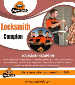 Locksmith Compton | 4234996266 | popalock.com