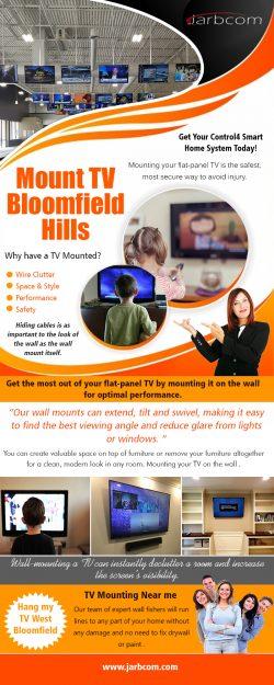 Mount TV Bloomfield Hills | Call – 1-800-369-0374 | jarbcom.com