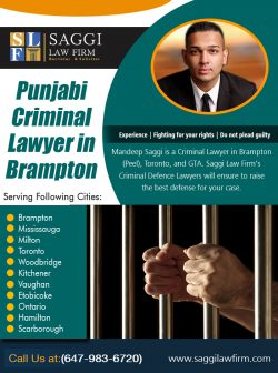 Punjabi Criminal Lawyer in brampton