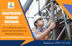 Scaffolding training Brisbane