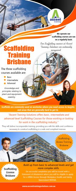 Scaffolding Training in Brisbane