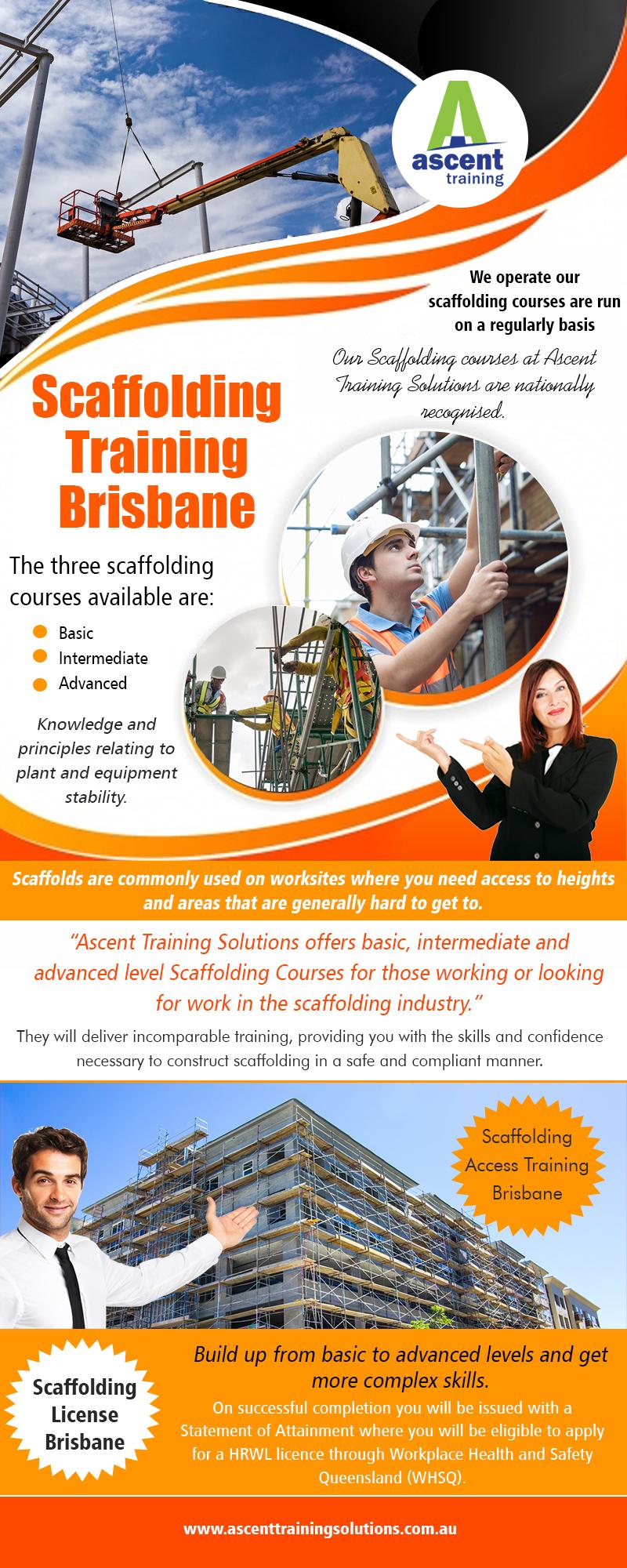 Scaffolding Training in Brisbane