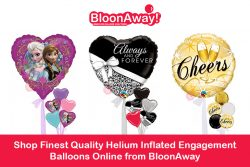 Shop Finest Quality Helium Inflated Engagement Balloons Online from BloonAway