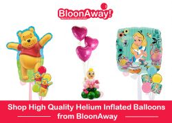 Shop High Quality Helium Inflated Balloons from BloonAway
