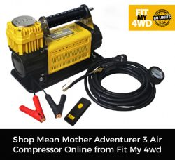 Shop Mean Mother Adventurer 3 Air Compressor Online from Fit My 4wd