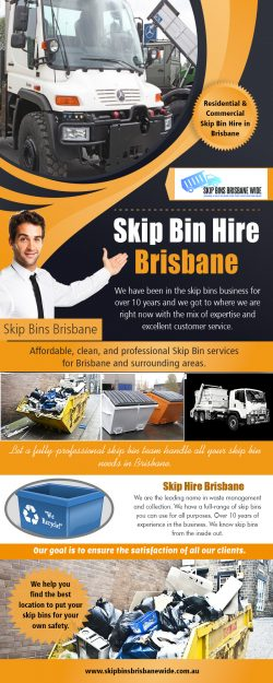 Skip Bin Hire in Brisbane | Call : 0721021262 | skipbinsbrisbanewide.com.au