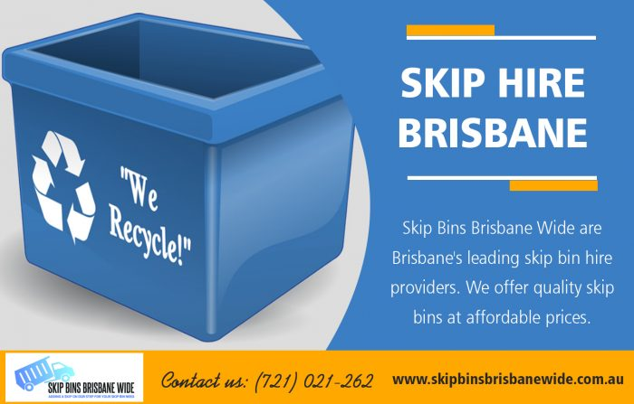 Skip Hire Brisbane | Call : 0721021262 | skipbinsbrisbanewide.com.au