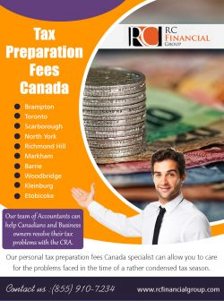 Tax Preparation Fees Canada
