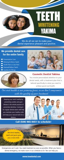 Teeth Whitening Yakima | 509728932 | tewdental.com