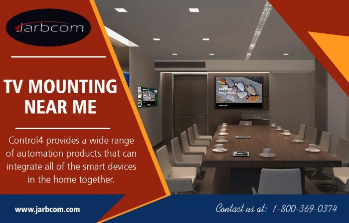 TV Mounting Near me | Call – 1-800-369-0374 | jarbcom.com