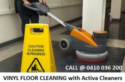 Vinyl Floor Cleaning Melbourne