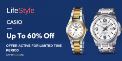 Lifestyle Casio Watches Collection+Upto 60% OFF for All Users