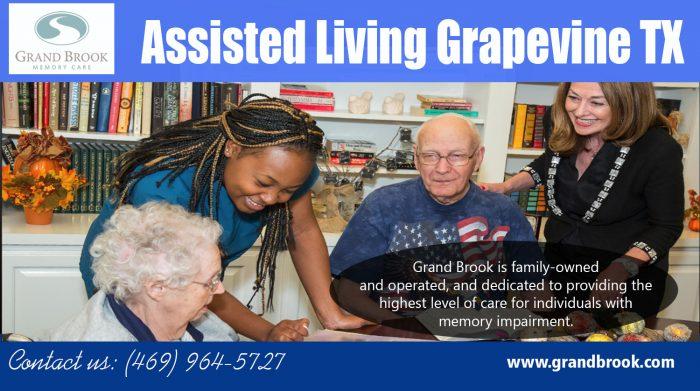 Assisted Living Grapevine TX | 8173298500 | grandbrook.com