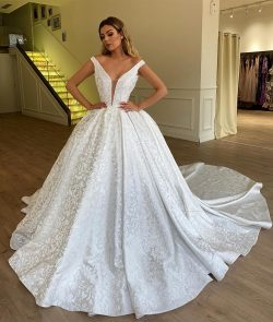 Ball Gown Off-the-Shoulder Bridal Gown | Sexy Strapless Appliques Wedding Dresses_Prom Dresses_S ...
