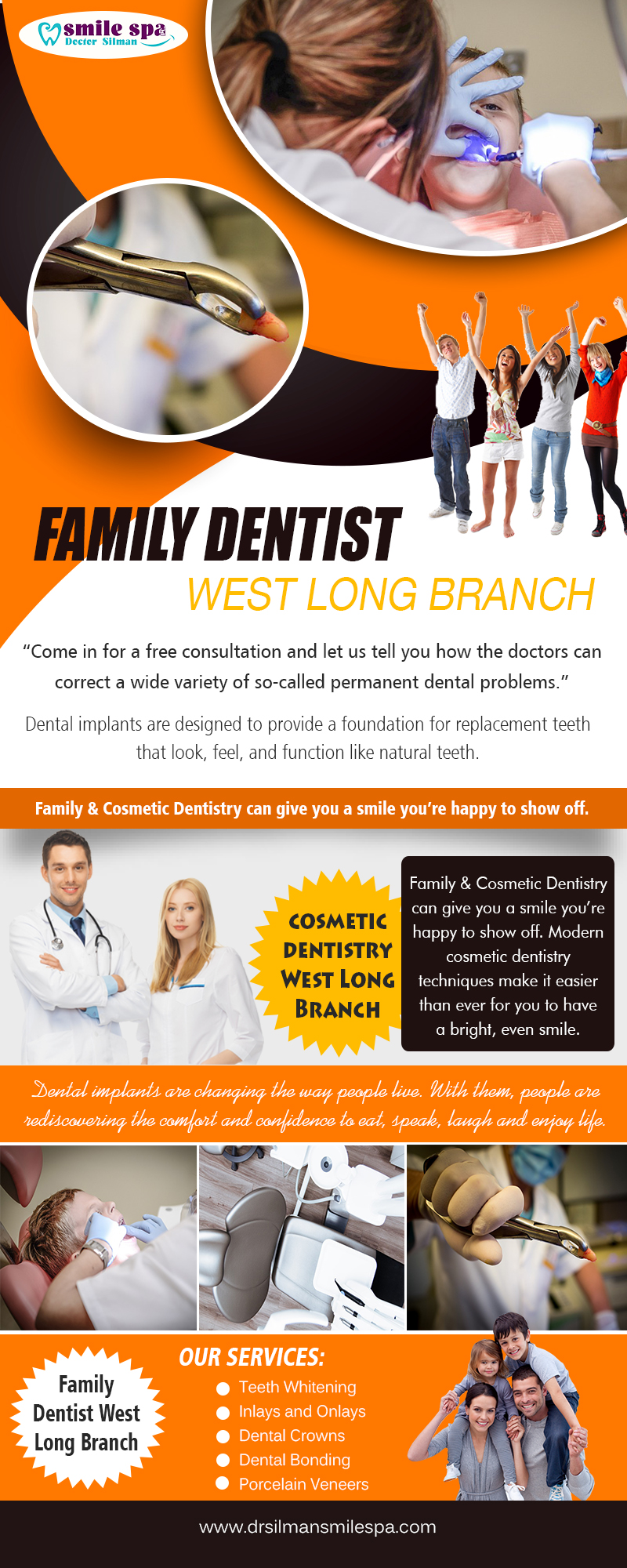 Best Dentist West Long Branch | Call – 732 222 0029 | www.drsilmansmilespa.com