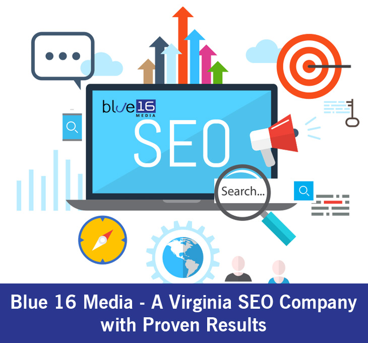 Blue 16 Media – A Virginia SEO Company with Proven Results