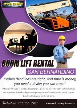 Boom Lift Rental San Bernardino | 9512562040 | westcoastequipment.us