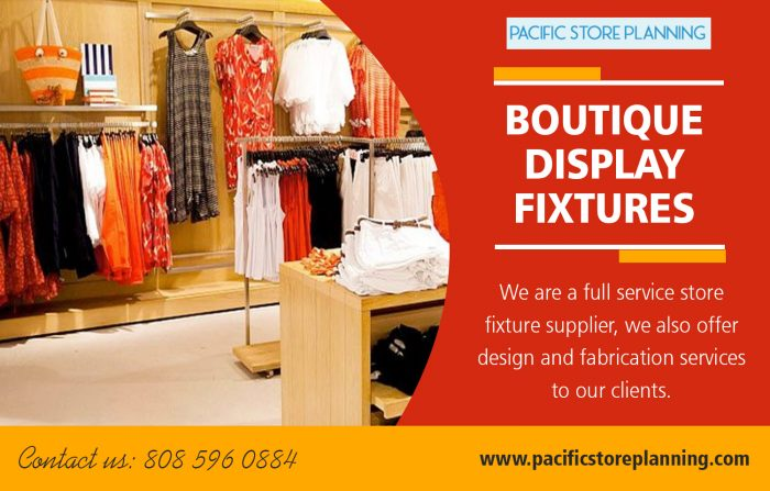 Boutique Display Fixtures