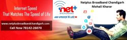 Best internet service provider in Chandigarh by Netplus Broadband Mohali