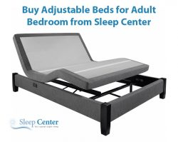 Buy Adjustable Beds for Adult Bedroom from Sleep Center