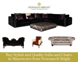 Buy Stylish and Quality Sofas and Chairs in Manchester from Newman & Bright