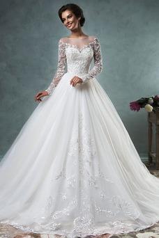 Comprar Vestidos de novia manga larga baratos online tiendas