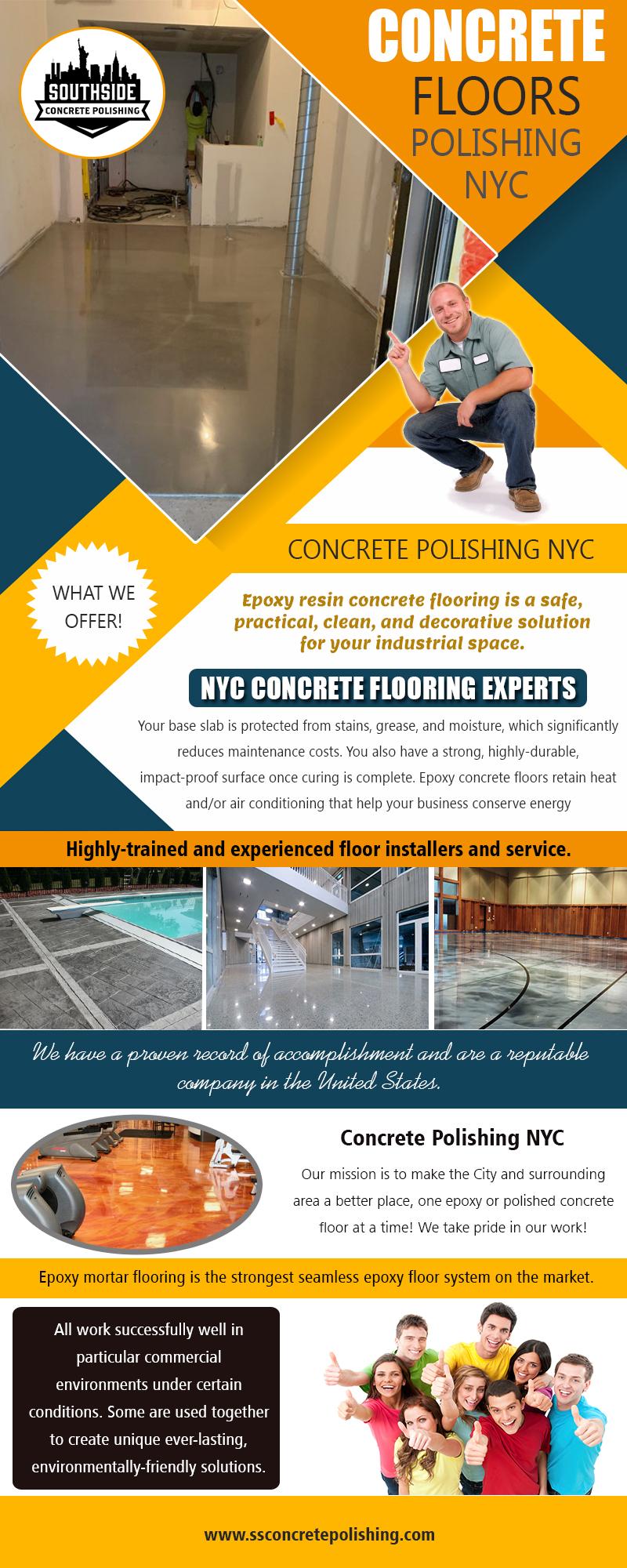 Concrete Floors Polishing NYC