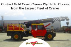 Contact Gold Coast Cranes Pty Ltd to Choose from the Largest Fleet of Cranes