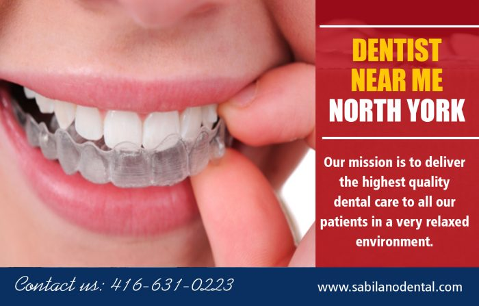 Dentist near me North York | Call – 14166310224 | sabilanodental.com