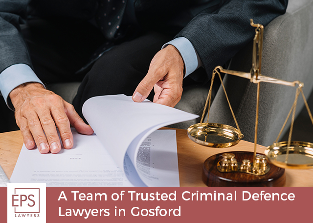 EPS Lawyers – A Team of Trusted Criminal Defence Lawyers in Gosford