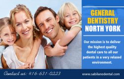 General dentistry North York | Call – 14166310224 | sabilanodental.com