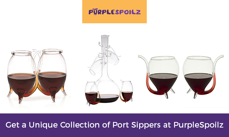 Get a Unique Collection of Port Sippers at PurpleSpoilz