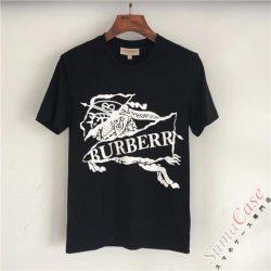 BURBERRY メンズ tシャツ 半袖 丸首 夏着 バーバリー 日常 通勤 ファッション カジュアル シンプル デ ...
