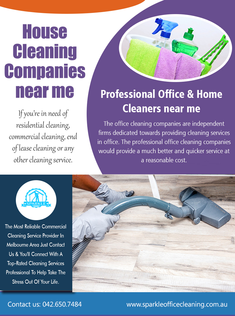 House Cleaning Companies Near ME