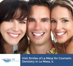 Visit Smiles of La Mesa for Cosmetic Dentistry in La Mesa, IL