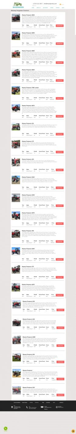 Massey ferguson 175 tractor for sale