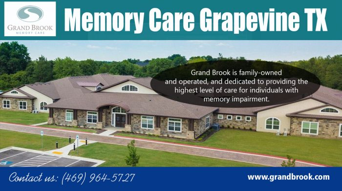 Memory Care Grapevine TX | 4699645727 | grandbrook.com
