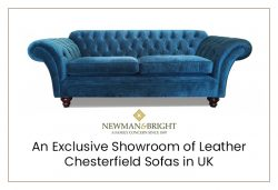 Newman & Bright – An Exclusive Showroom of Leather Chesterfield Sofas in UK