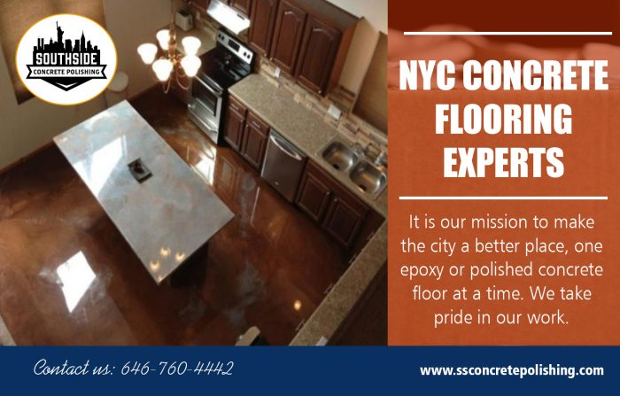 NYC Concrete Flooring Experts