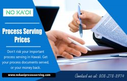 Process serving prices