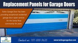 Replacement panels for garage doors
