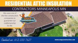 Residential Attic Insulation Contractors Minneapolis MN