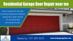 Residential garage door repair near me