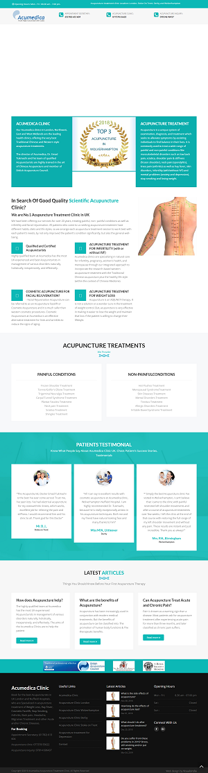 acupuncture treatment in wolverhampton