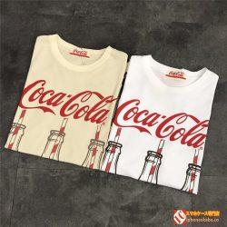 CocaCola tシャツ 2色 男女兼用 メンズ レディース Tシャツ トップス コカ・コーラ 半袖t-shirt 綿 ト ...