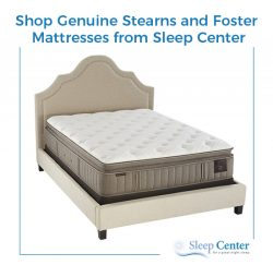 Shop Genuine Stearns and Foster Mattresses from Sleep Center